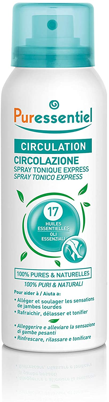 Puressentiel Circulation Spray with 17 Essential Oils, 100 ml