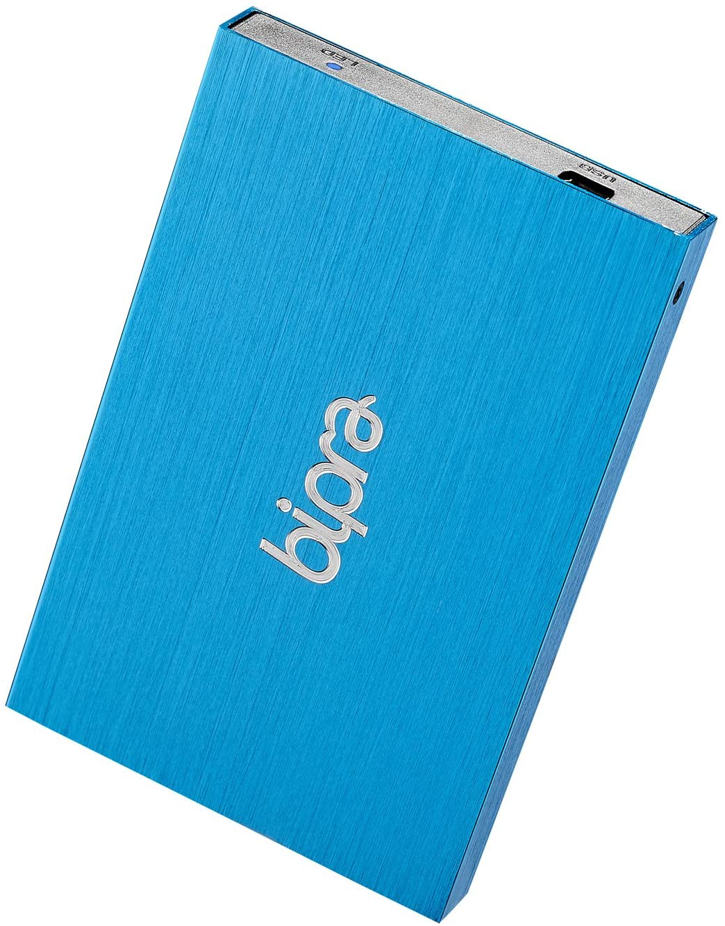 Bipra 2.5 Inch External Hard Drive Portable USB 2.0 - Blue - FAT32 (250GB)