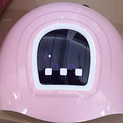 LKJYBG 54W Pro Nail Polish Dryer UV LED Nail Lamp Gel Acrylic Curing Light Manicure with 3 Timer US White border