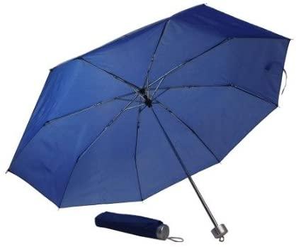 New Ultra Light Exceed Short Umbrella The parasol Rain Umbrellas Hot Selling For Women And Men Rain Or Shine (ฺBlue)