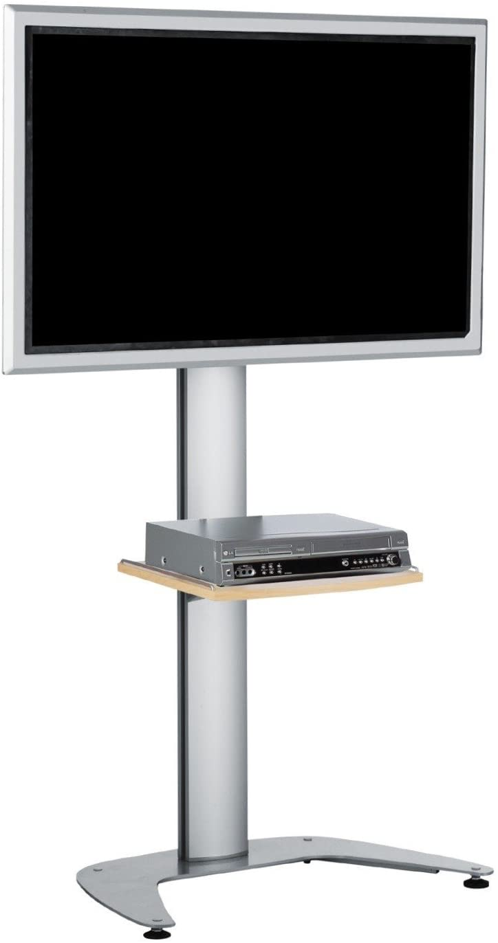 SMS Smart Media Solutions FH T1450A/S–Floor Stand Mount (Silver, Aluminium, 100kg, -3–10°, 1510mm, 145cm)