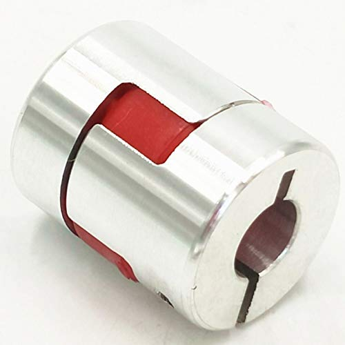 Ochoos 1Pcs 810 5/6/6.35/8/10/12/12.7/14/15/16/mm D30mm L40mm Motor Flexible Plum Coupling Shaft Coupler - (Inner Diameter: 12mm to 12mm)