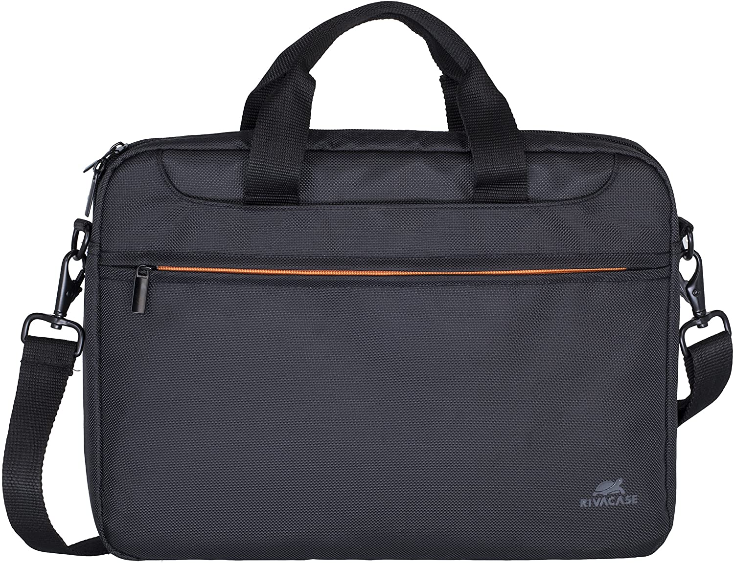 Rivacase 15.5 inch Laptop Bag with Separate Document Compartment - Black