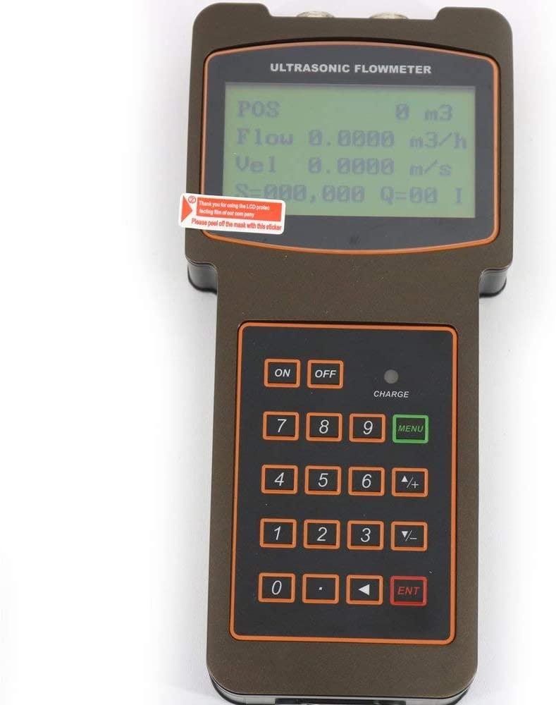 RaeSung Digital Fixed Liquid Ultrasonic Flow Meter Flowmeters TUF-2000H+TS-2+TM-1+TL-1 Measuring Pipe Size from DN15mm to DN6000mm