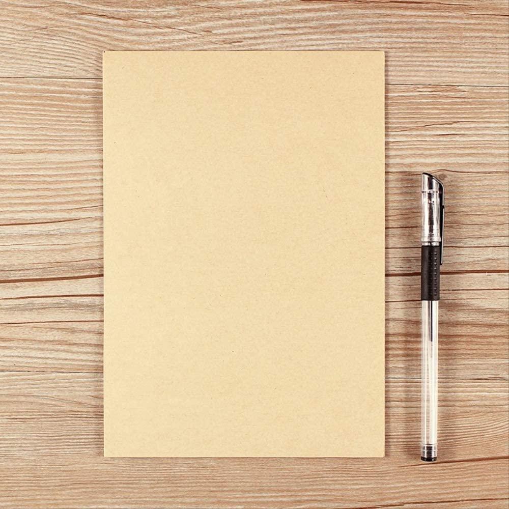 A Confession Letter of Love, Kraft Letter, Send Boyfriend Simple, Solid Color Small, Retro Creative Stationery