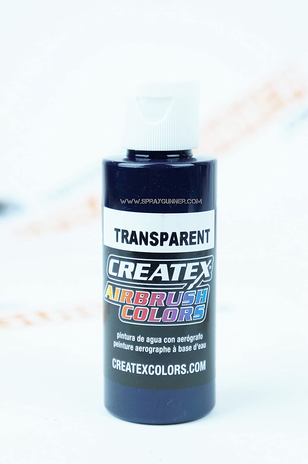 Createx Airbrush Colors 5102 Transparent Violet 2oz. Paint. by SprayGunner