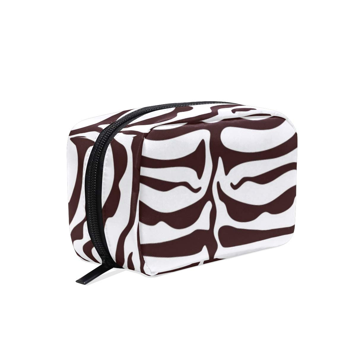 ILEEY Tiger Animal Stripes Cosmetic Pouch Clutch Makeup Bag Travel Organizer Case Toiletry Pouch for Women