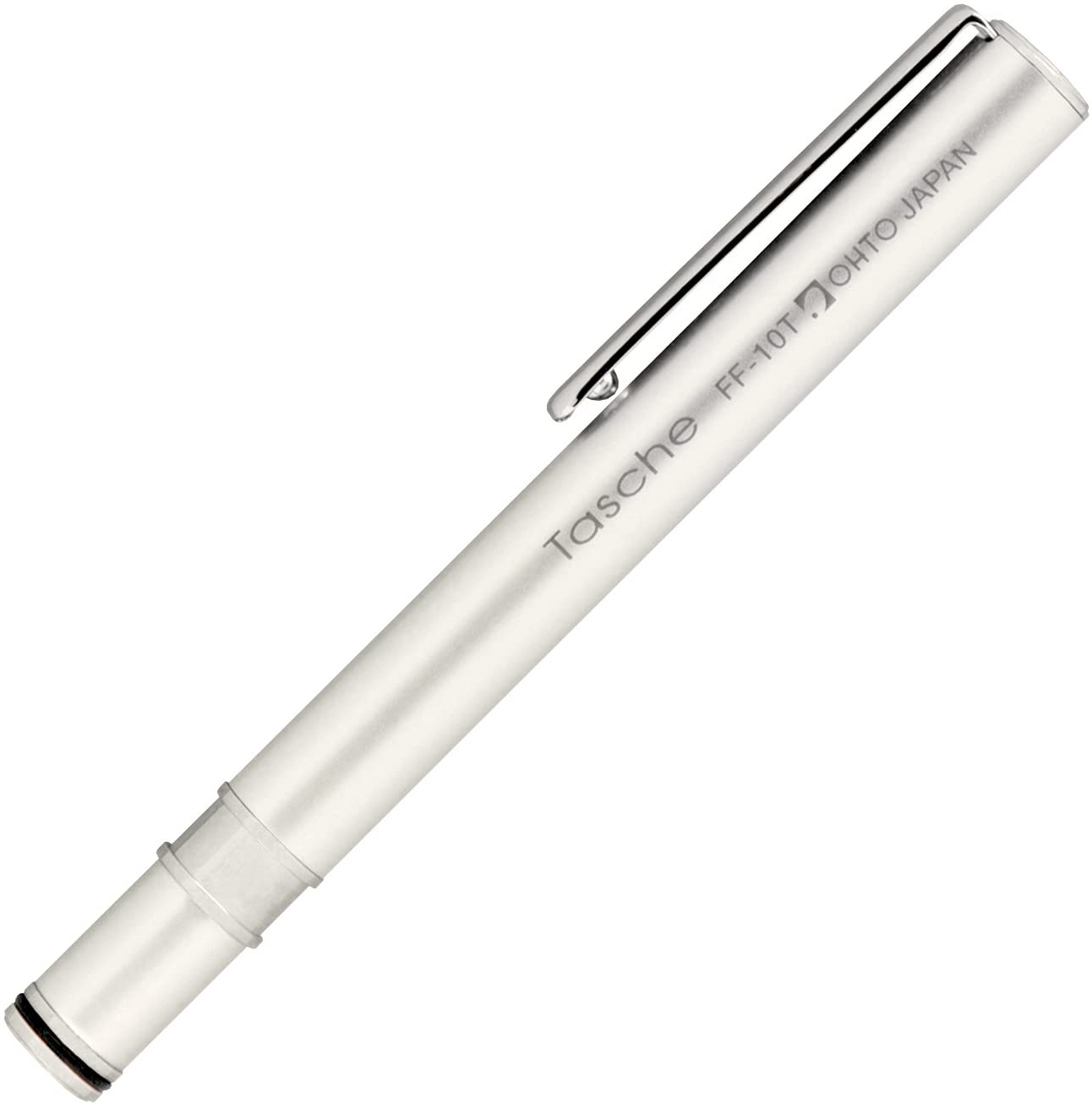 OHTO - Tasche Silver Fountain Pen - 0.5mm - Writing Color: Black