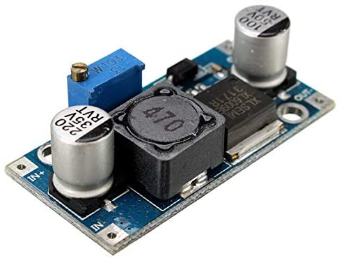QUAKOI 4A XL6009E1 Adjustable DC-DC Step Up Boost Converter Power Supply Module