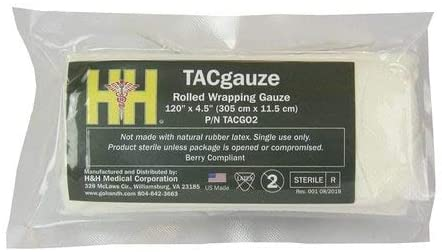 H&H TACgauze, Rolled