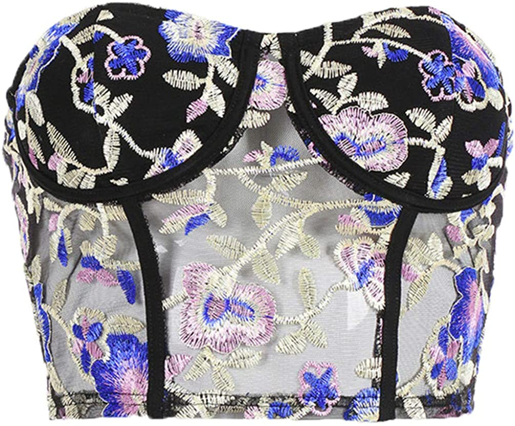 Women Sexy Strapless Tube Top Cropped Black Bandeau Tops Summer Underwear Crop Top Bra Chest