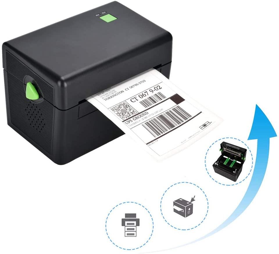 BESTEASY Direct Thermal Printer, High Speed 4