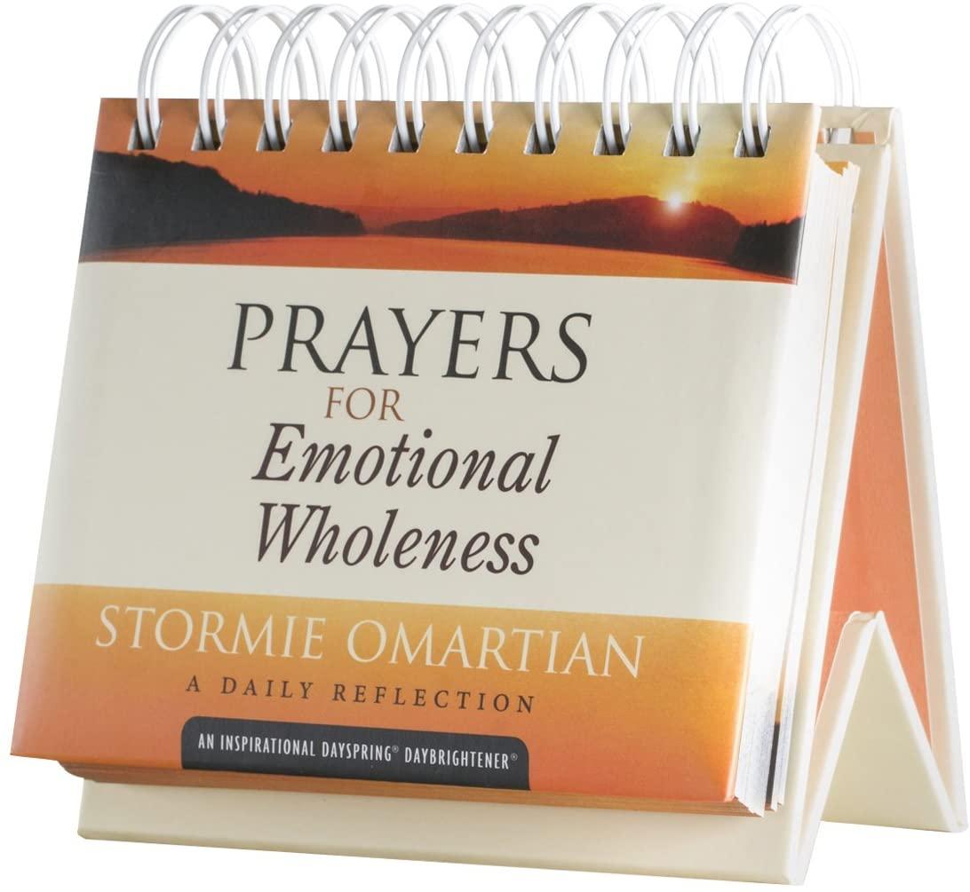 Flip Calendar - Prayers for Emotional Wholeness - Stormie Omartian