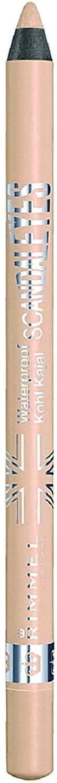 Rimmel London Scandal Eyes Waterproof Kohl Kajal Eyeliner, Nude 0.04 oz (Pack of 2)