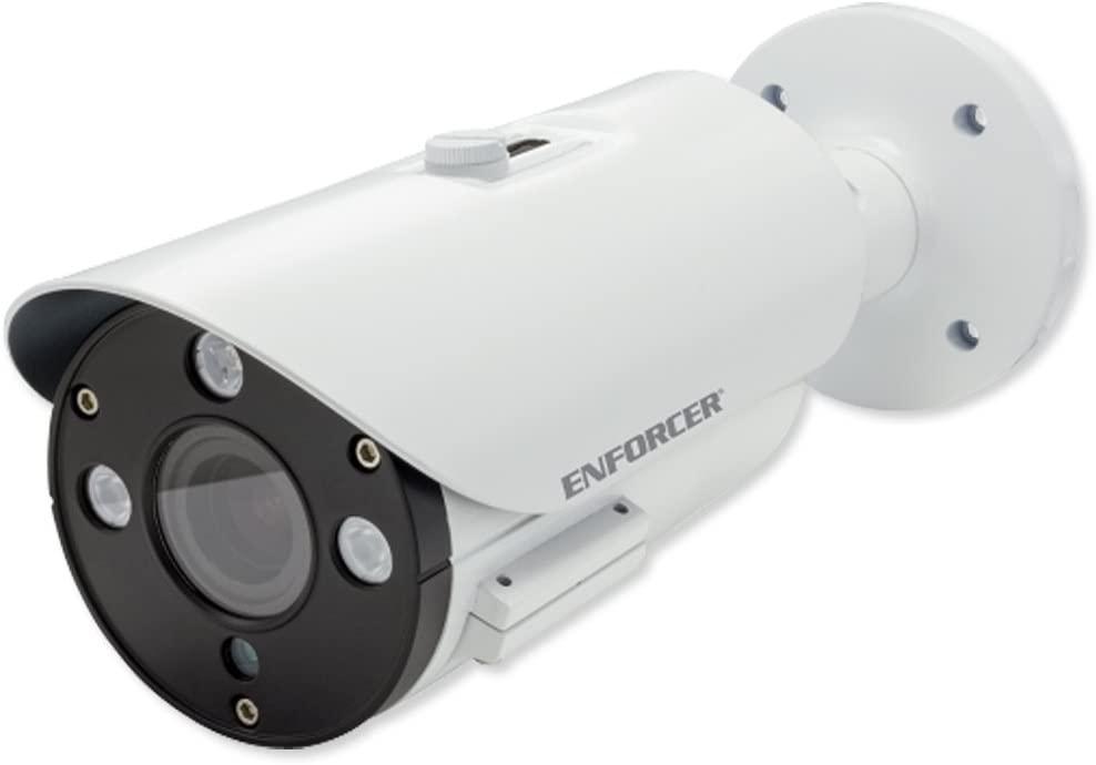 Seco-Larm EV-Y1201-AMWQ Enforcer 4-In-1 HD Bullet Camera, Varifocal, 2.8-12mm, 1080p, DWDR