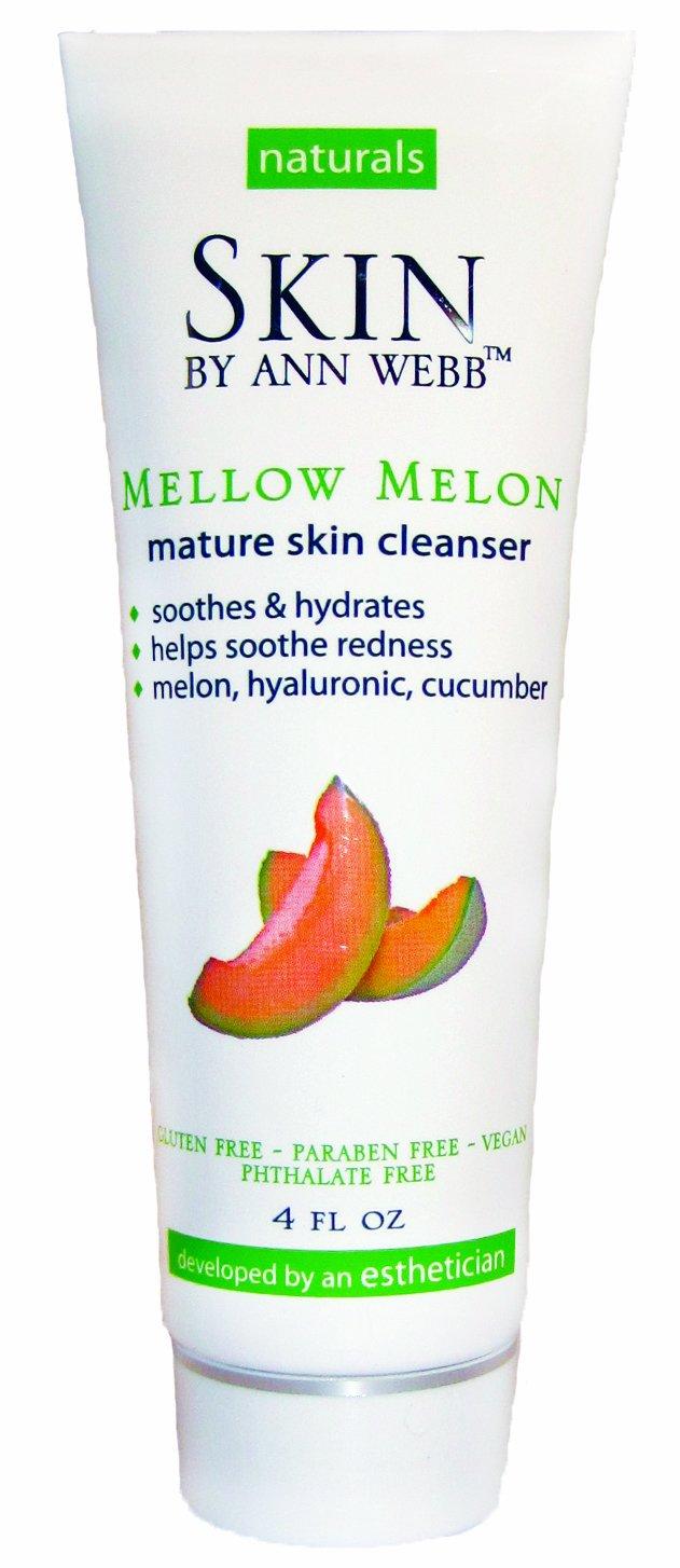 Skin By Ann Webb Cleanser, Mellow Melon, 4 Fluid Ounce