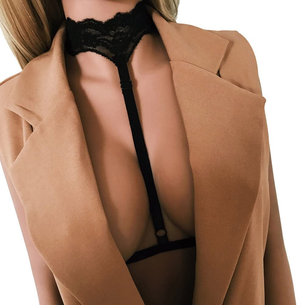 Fineday Sexy Women Ladies Hollow Strappy Bra Cage Crop Top Bustier Tops, Intimates, Clothing Shoes & Accessories HotSales (BKS)