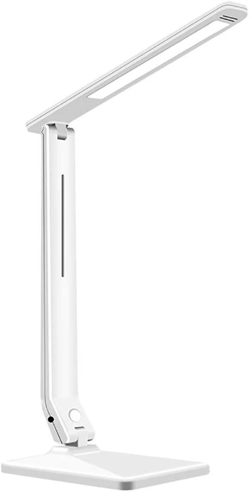 Bdesign Desk lamp, Office Lamp 3 Lighting Modes,USB Charging Port,Sensitive Touch Control,Eye-Caring Folding Desk Light for Reading Function