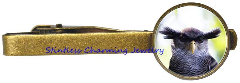 Eagle-owl Tie Clip Bird Gift Owl Tie Pin Gift Bird Tie Pin Owl Jewelry Owl Jewellery Bird Jewelry Bird Tie Clip Owl Gift Wild-JV85