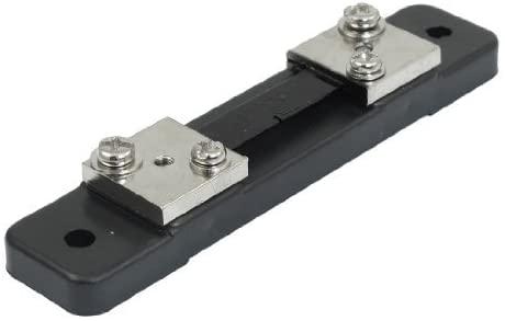 50A 75mV DC Medidor de corriente Resistencia de derivacion de resistencia para amperimetro de CC
