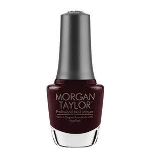 Morgan Taylor Professional Nail Lacquer, Burgundy Crème