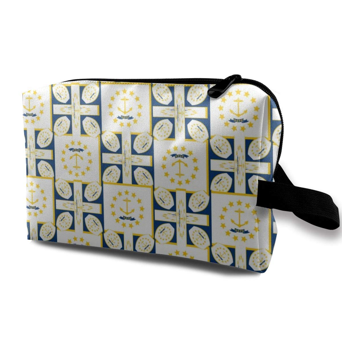 Rhode Island Toiletry Bag Multifunction Cosmetic Bag Portable Makeup Pouch Travel Organizer Bag For Women Girls