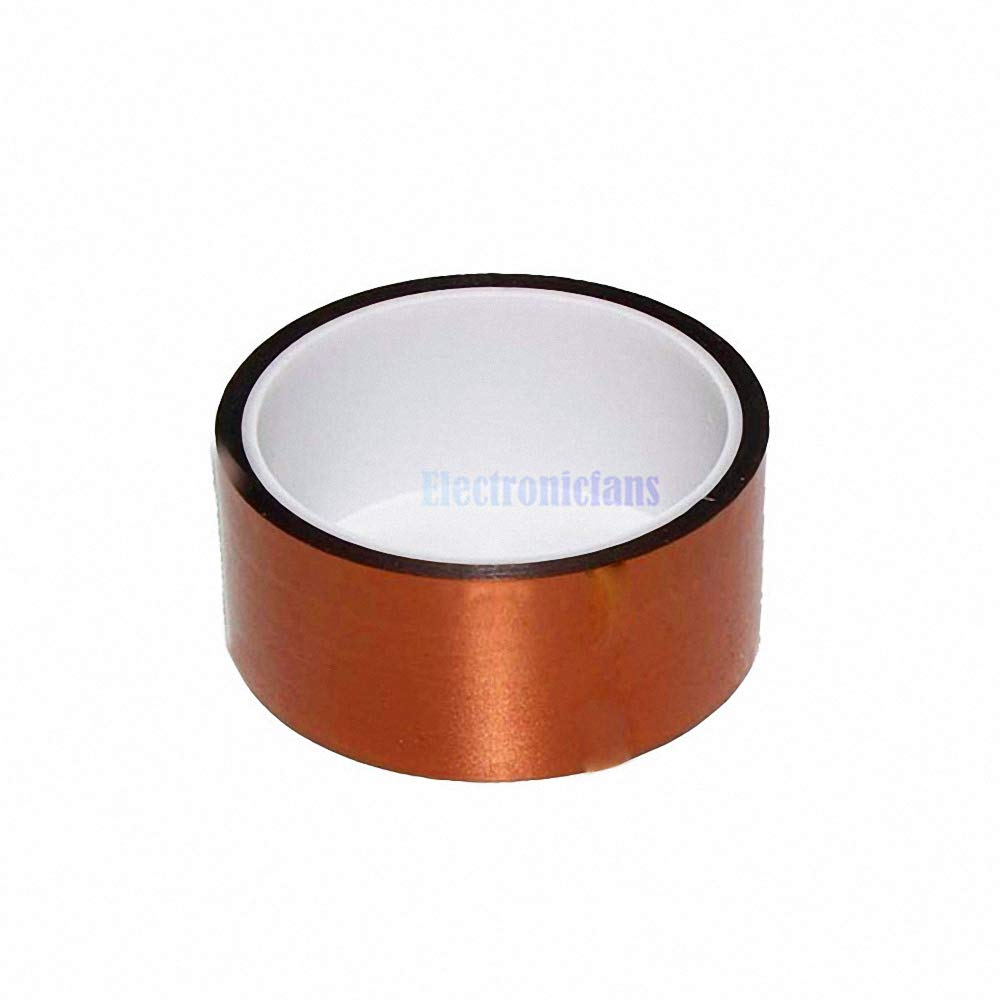 40mm 4cm x 30M Adhesive Tape High Temperature Heat Resistant Polyimide Tape 260-300 Degree for Electronic Industry