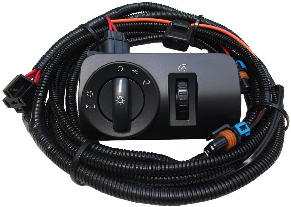 2005-2009 V6 Mustang Fog Light Wiring & Switch Kit