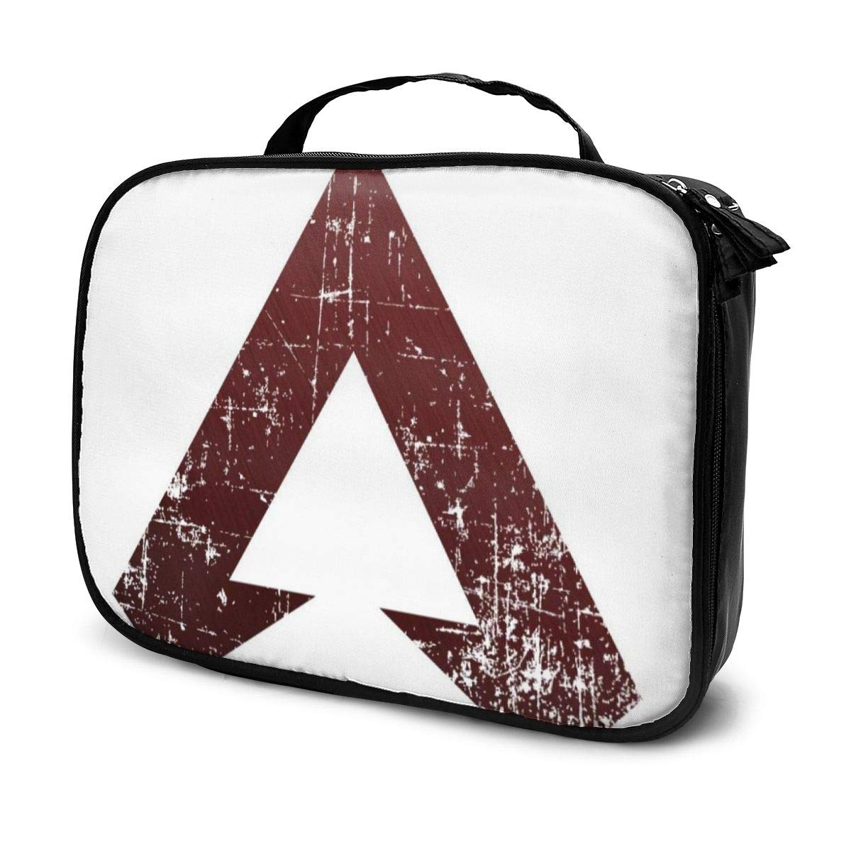 Multi-Functional Bag With Compartments Apex Legends Distressed Logo Professional Cosmetic Pouch Travel Kit Makeup Boxes Makeup Bag