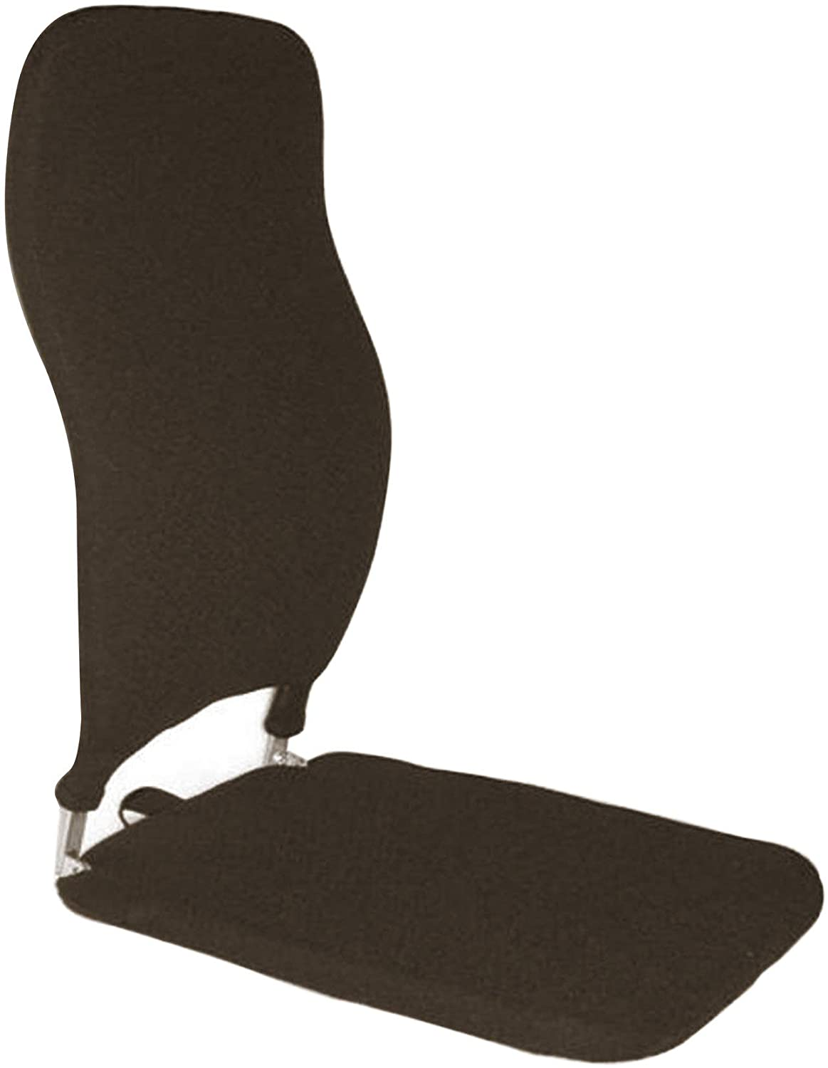 Q QUALITY BRAND COMPANY McCarty's Q-BRSCMCF2418-BRN 14 in. Wide Memory Foam Tall Sacro-Ease Ergonomic Seat Support 18x14x24 in. Brown Color