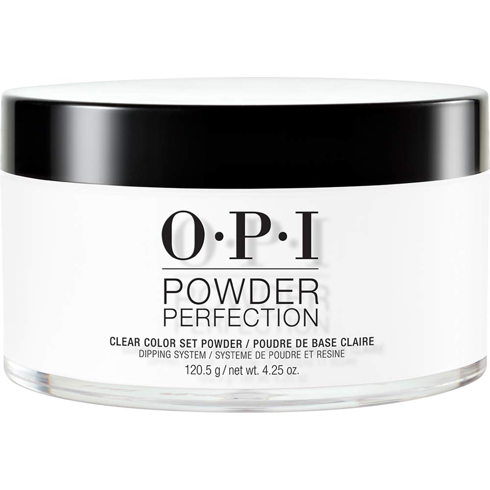 OPI Powder Perfection, Dipping Powder Nail Color, Powder Nail Polish, Clear Color Set Powder 4.25 oz