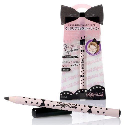 Koji Dolly Wink Pencil Eyeliner 0.3oz./7g Black