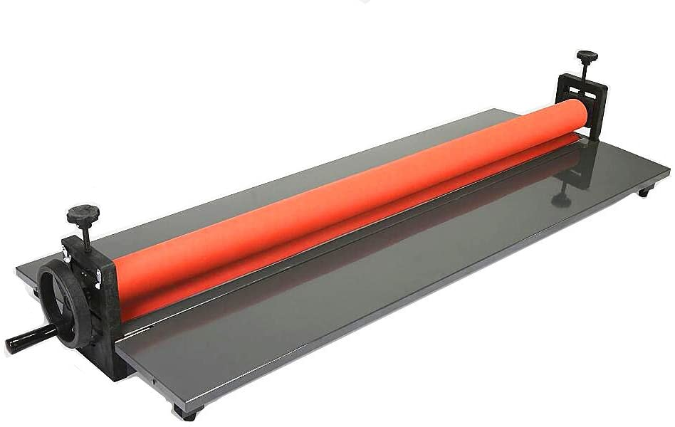 KUNHEWUHUA 25.5inch/ 650mm Manual Collapsible Roll Laminating Machine Cold Laminator