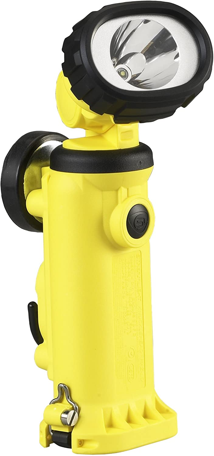Streamlight 91727 Knucklehead HAZ-LO Rechargeable Spot Light with 120-volt AC/12-volt DC Charger, Yellow - 150 Lumens