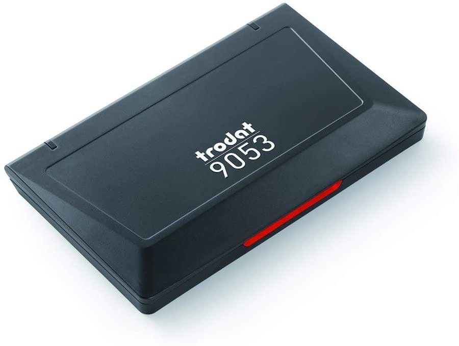 Trodat Ink Pad Business Stamp Pad, Red (Trodat 9053 Red Stamp Pad)