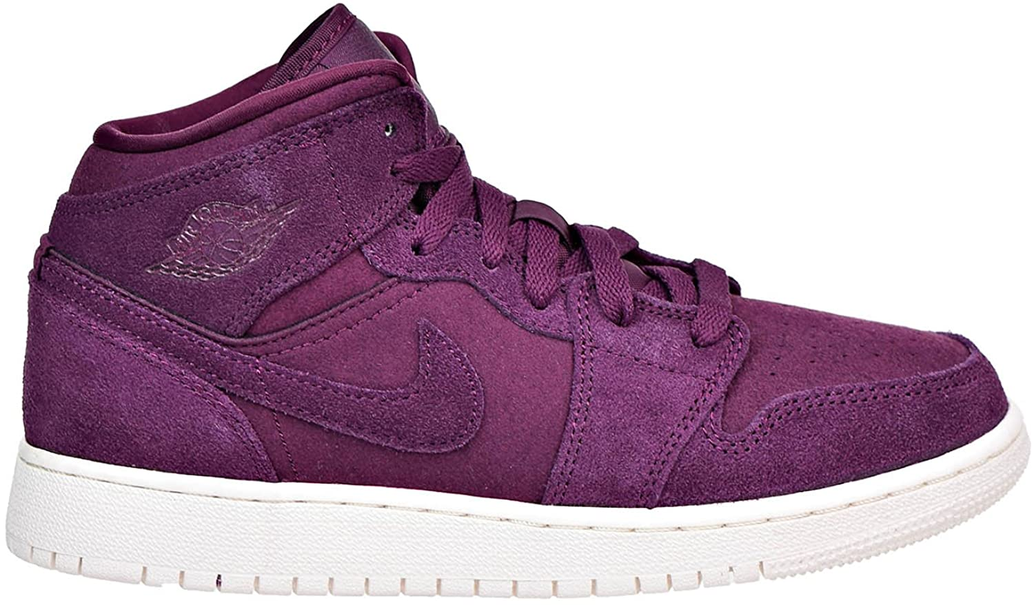 Jordan Retro 1 Mid Basketball Girl's Shoes Size