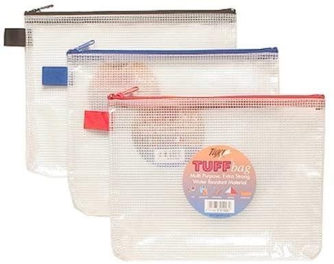 Tiger tuff bag A5 size single bag - assorted colours