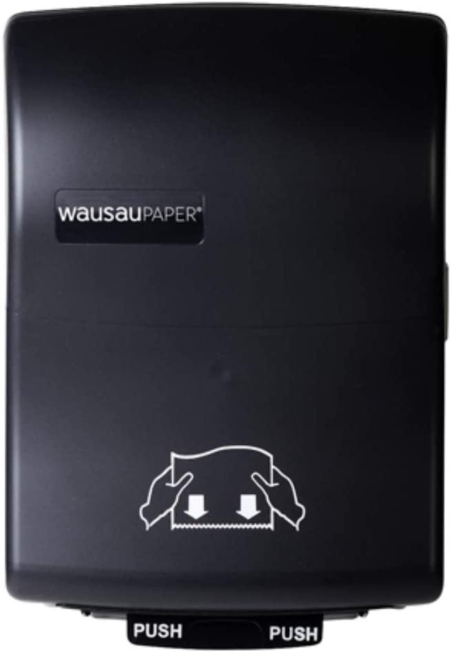 Silhouette Optiserve Mechanical Hands-free Roll Towel Dispenser Black Translucent