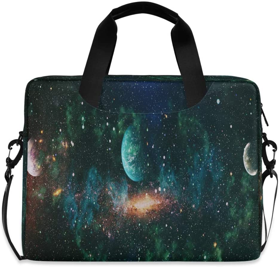 The Explosion Supernova Laptop Carrying Case Shoulder Bag Briefcase W/Strap Women Men 15.6