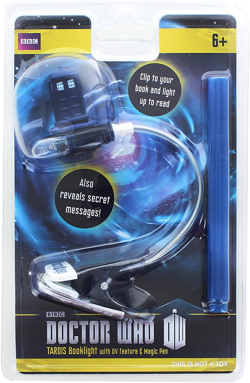 Underground Toys Doctor Who Book Light with UV Pen