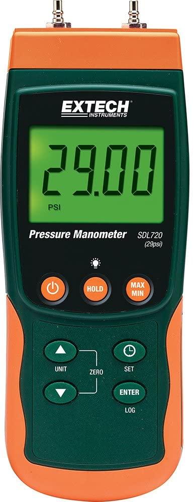 Extech SDL720 Differential Pressure Manometer/Datalogger