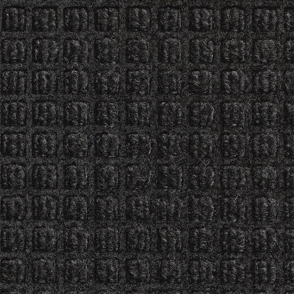 Aviditi Waterhog Mat, 6' X 10', Medium, Charcoal (MAT168CH)
