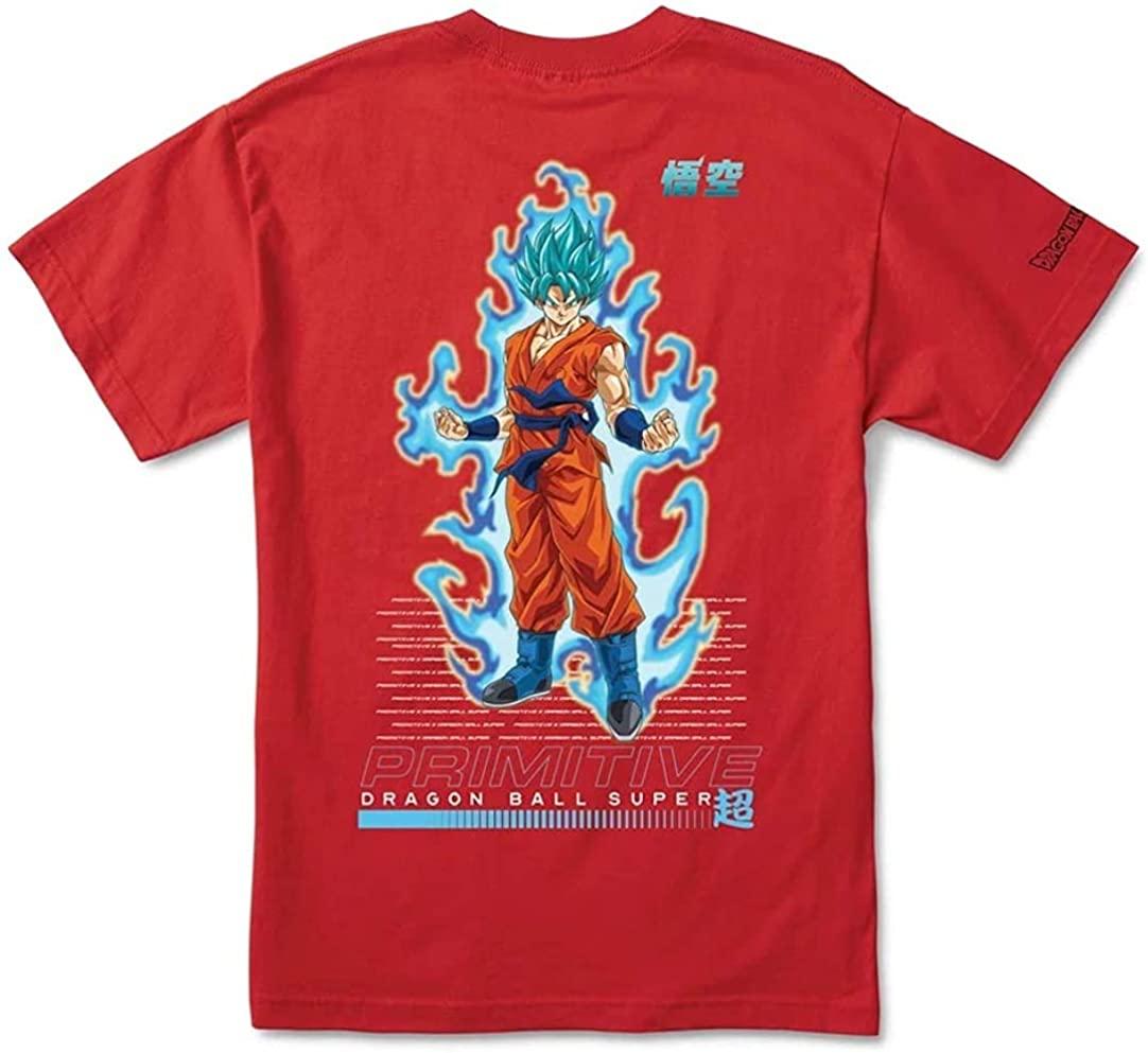Primitive X Dragon Ball Z SSG Goku S/S Regular Fit Men's T-Shirt