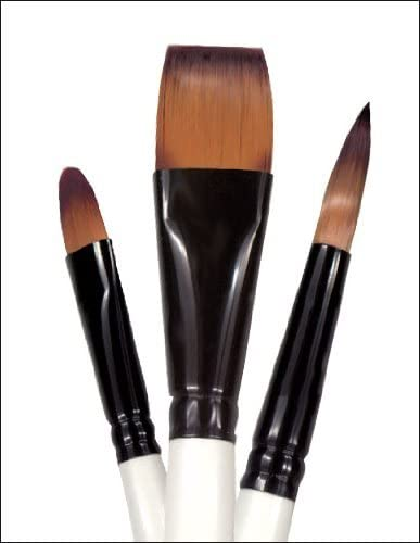 Simply Simmons Oil and Acrylic Brush Bristle Round LH 10
