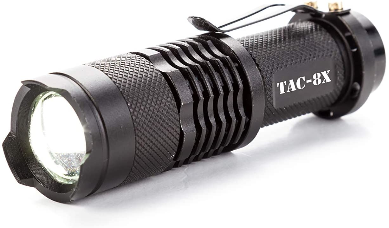 BRAVO8 TAC-8X Tactical Flashlight