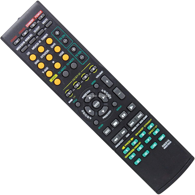 BestolRemote Control for Yamaha RAV315 WN22730 EU Speaker Control Remote Audio Smart RX-V650.RX-V459.RX-V730RDS.RX-V3800.RX-V663.RX-V863 RX-V461.RXV561.RX450 RX-V363.RX-V463.RX-V561.