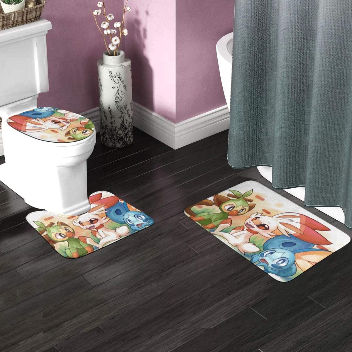 3pc Bathroom Rug Set 35.4