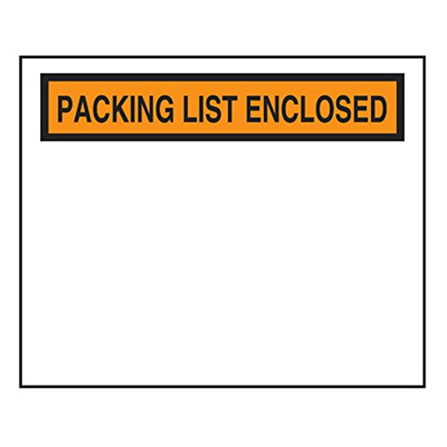AMC Plastics PLE4555 Packing List Envelope 4.5
