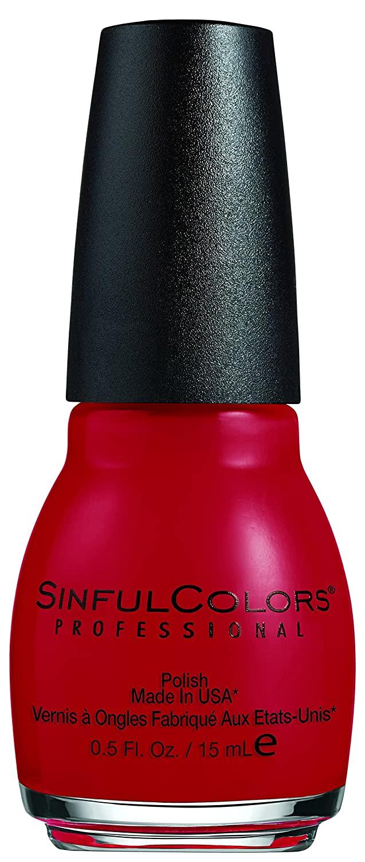 Sinful Colors Professional Nail Polish Enamel, Ruby Ruby [369] 0.50 oz