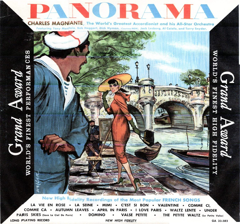PARIS PANORAMA - CHARLES MAGNANTE AND HIS ORCHESTRA